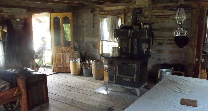 Rustic Small Cabin Interior