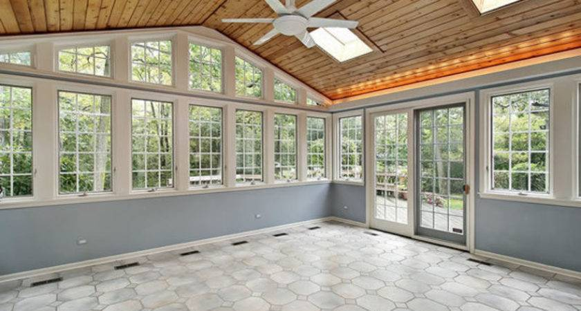 Rustic Sunrooms Enclosed Patios Small