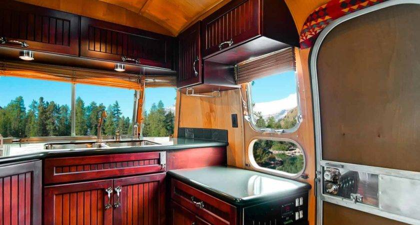 Rustic Themed Airstream Filled All Modern Day