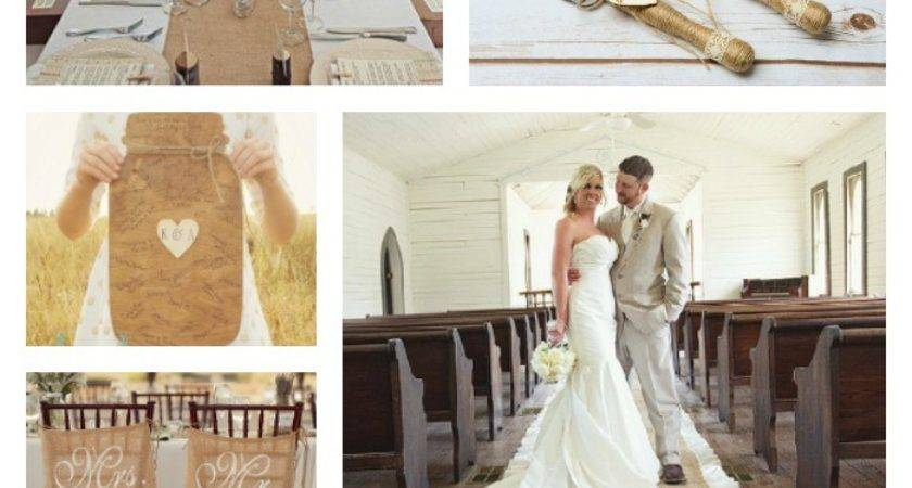 Rustic Wedding Ideas Country Chic Cottage