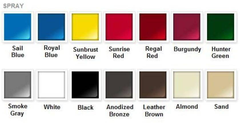 Rustoleum Spray Paint Color Chart Impressive