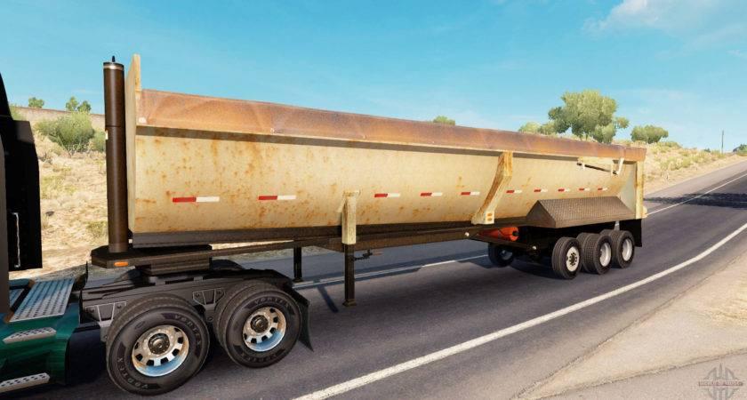 Rusty Dumps Trailer American Truck Simulator