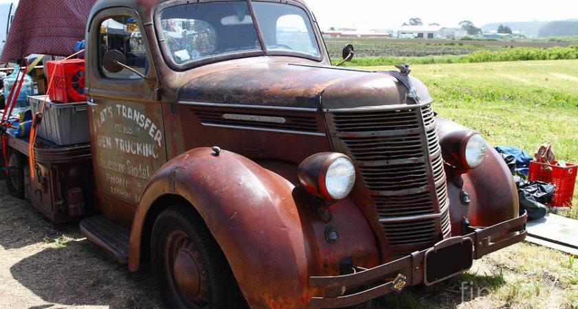Rusty Old International Truck Photograph
