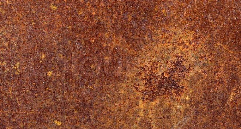 Rusty Scratched Sheet Metal