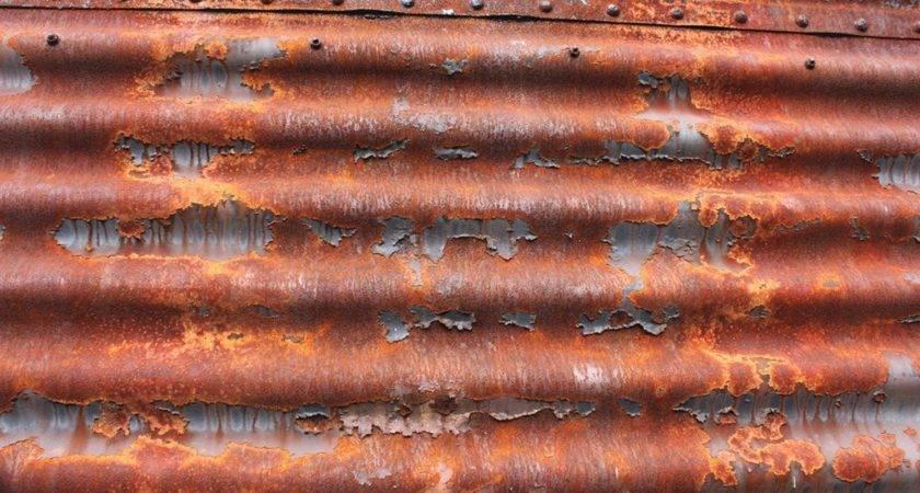 Rusty Sheet Metal Texture