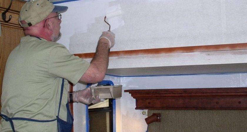 Rvhobby Necessary Steps Painting Vinyl Walls