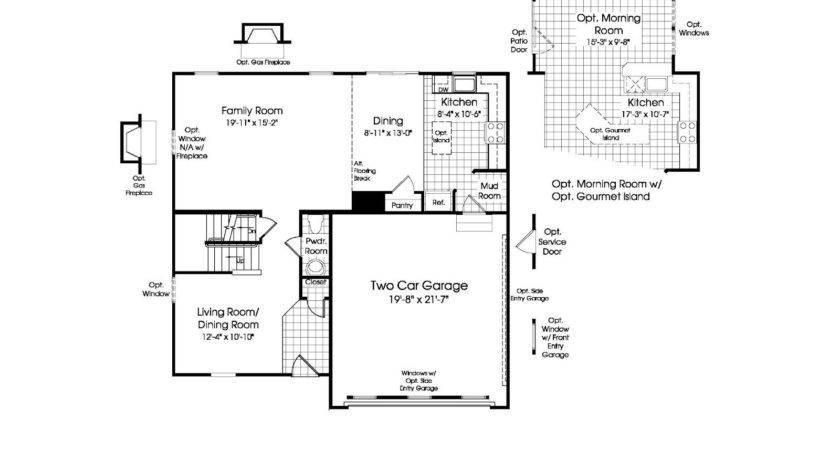 Ryan Homes Ohio Floor Plans Unique Home Designs