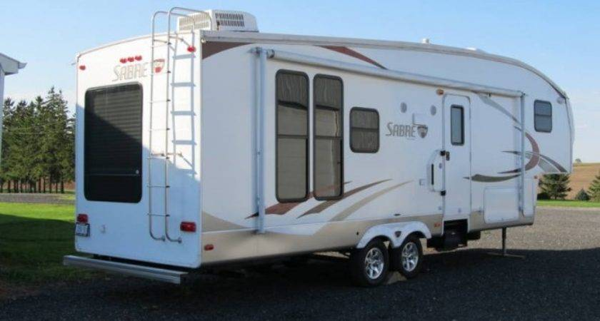 Sabre Reds Fifth Wheel Trailer Sale Woodstock