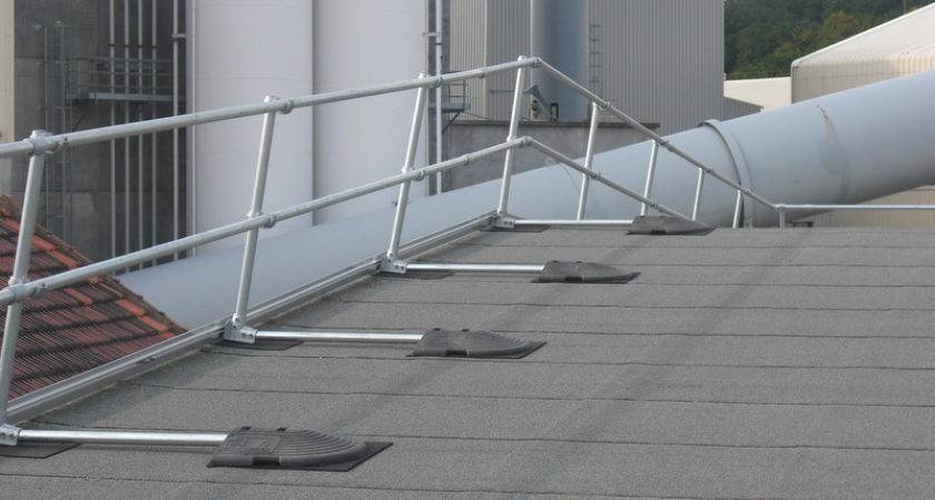Safety Railing Solutions Diverse Environments Fall