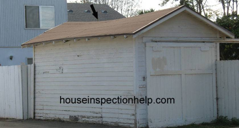 Sagging Garage Roof
