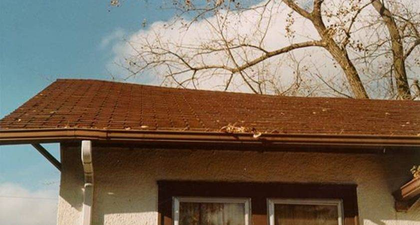 Sagging Roof Houspect Building Inspections