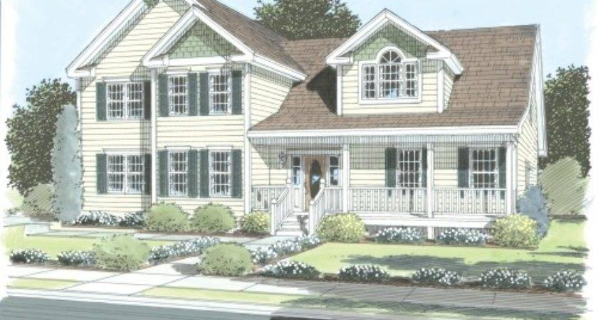Salem Simplex Modular Homes Two Story Floorplan