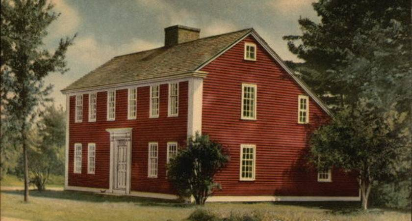 Saltbox House Old Sturbridge Village Massachusetts