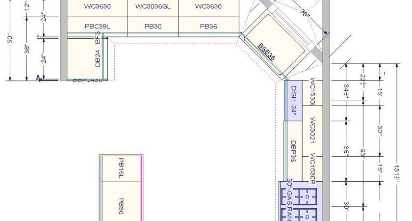 Sample Kitchen Floor Plans Home Design