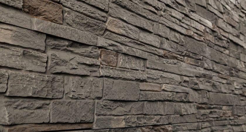 Samples Stoneworks Faux Stone Siding Slate