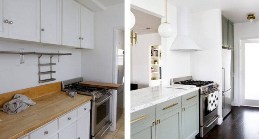 Sarah Sherman Samuel Kitchen Before After