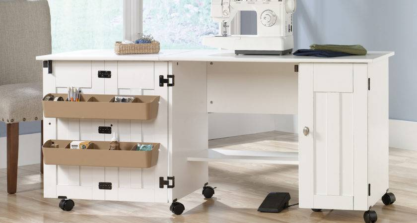 Sauder Select Sewing Craft Cart