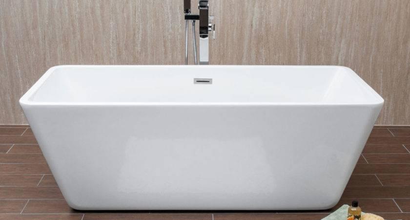 Savisto Bathrooms Napoli Modern Wide Double Ended Square