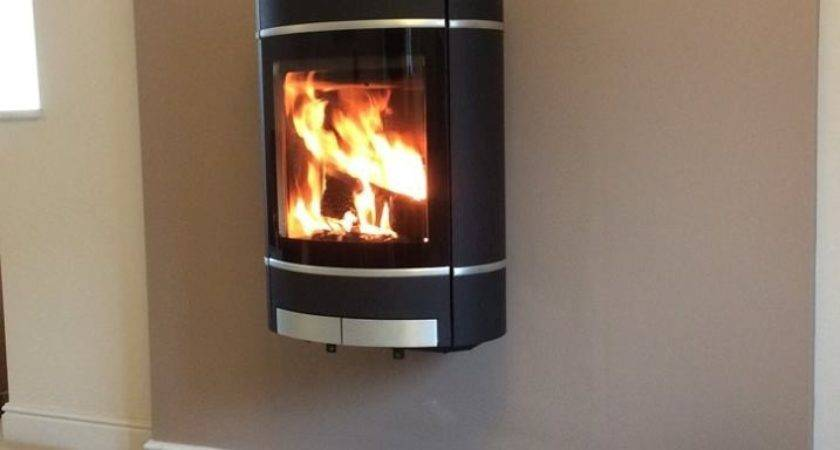 Scan Wallhanging Stove Rear Flue Installed External