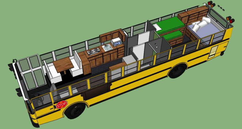School Bus Conversion Ideas Into Something Different