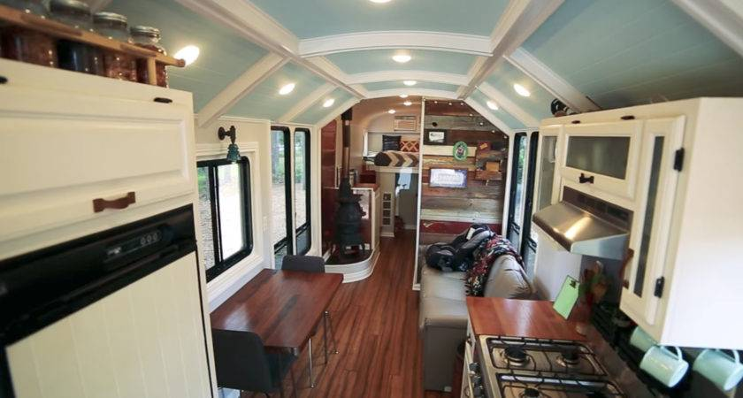 School Bus Conversion May Most Impressive One