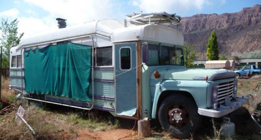 School Bus Conversion Sale Moab Utah