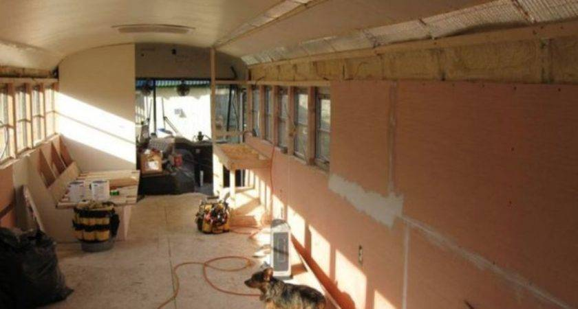 School Bus Converted Into Amazing Diy Motorhome