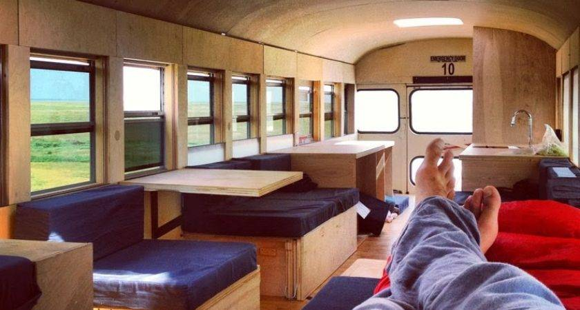 School Bus Converted Into Mobile Home Amazing Facts