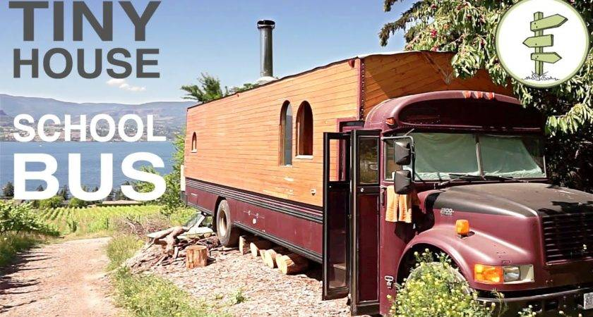 School Bus Converted Into Time Tiny House Amazing
