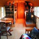 School Bus Converted Into Tiny Home Two