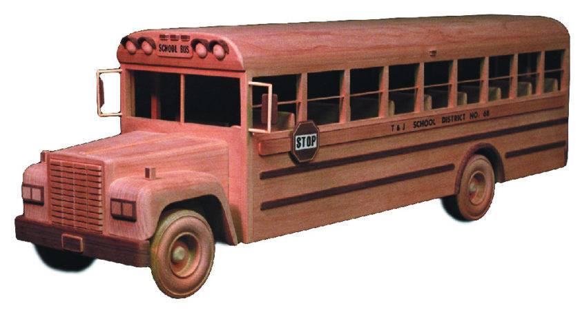 School Bus Inch Woodworking Plan