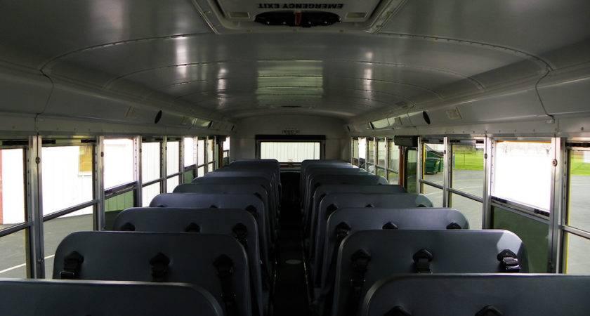 School Bus Interior Kevin Flickr