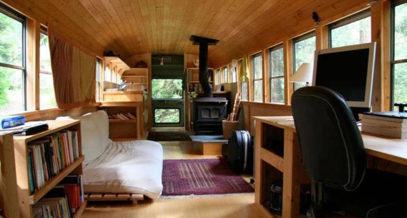Schoolbus Turned Tiny House Listings Hooked
