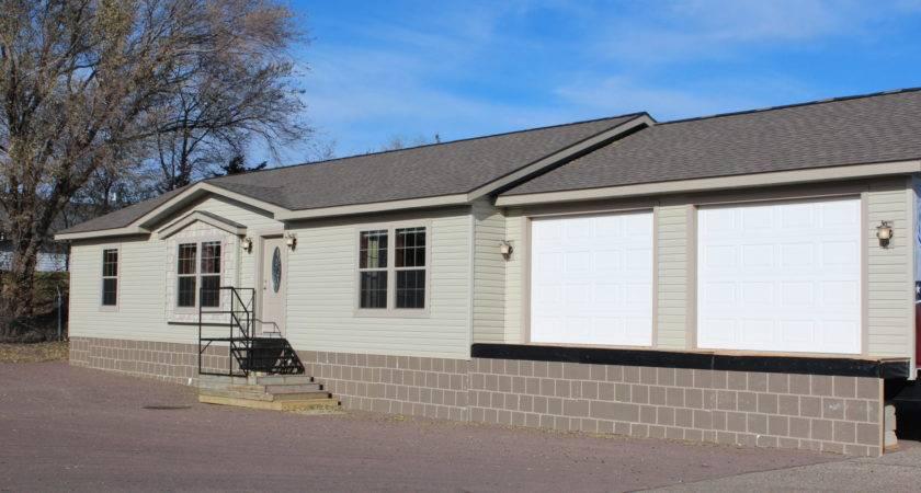 Schult Hearthside Modular Home Garage Exterior