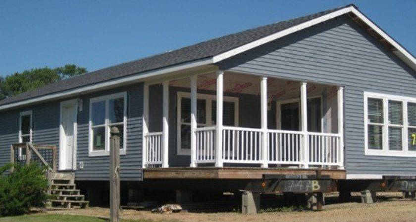 Schult Modular Exterior Porch Excelsior Homes West