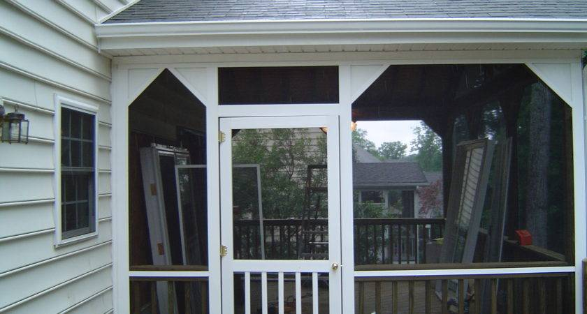 Screen Porch Gable Roof