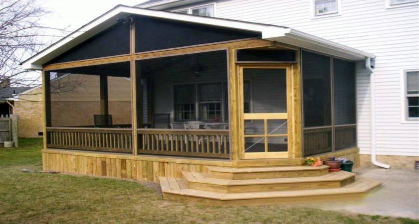 Screen Porch Ideas Mobile Home