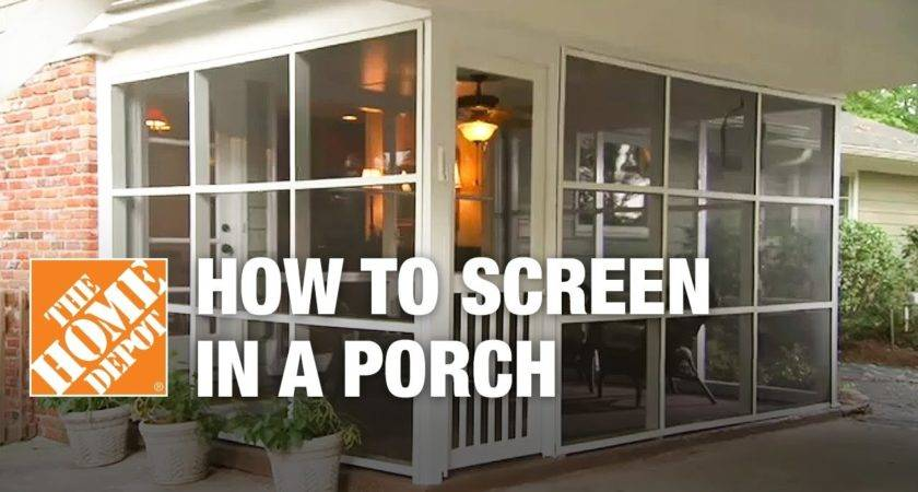 Screen Porch Installing Tight