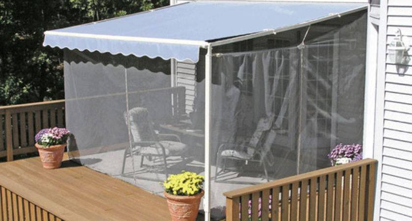Screen Porch Kits Install Awnings Make