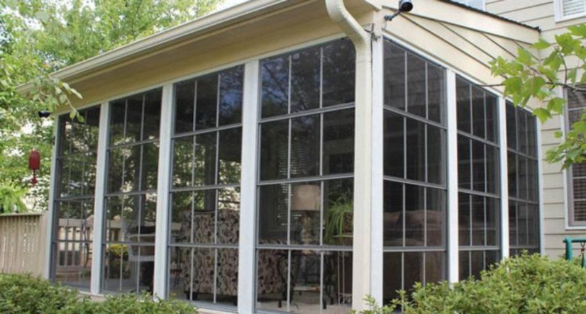 Screen Porch Windows Create Comfortable Enclosures