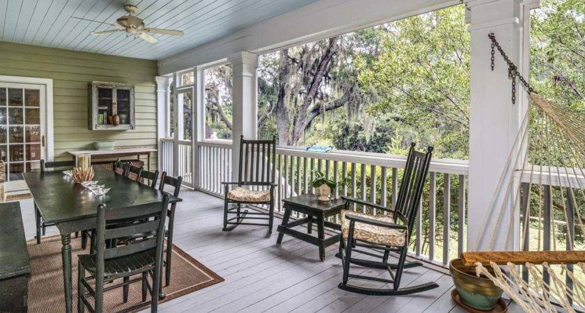 Screen Your Front Porch Patio Home Design