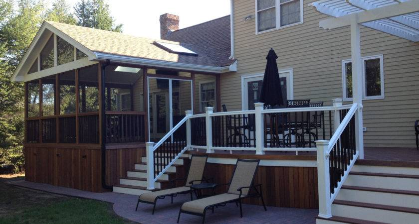 Screened Deck Design Ideas Archadeck Louis