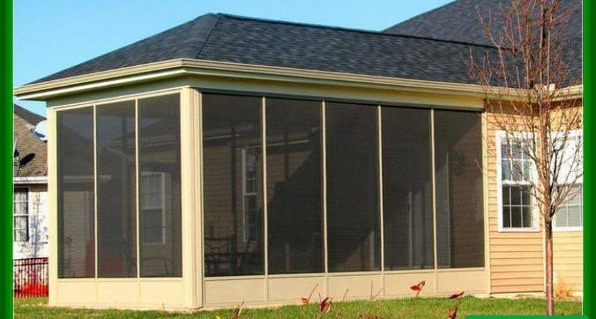 Screened Deck Flooring Design Ideas