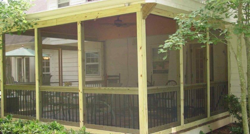 Screened Porch Plans Diy