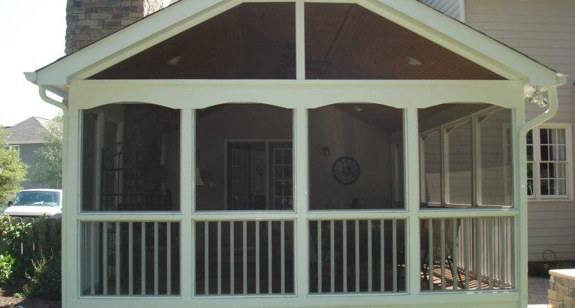 Screened Porches Raleigh Custom Built Screen