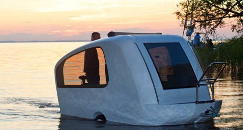 Sealander Amphibious Camping Trailer Cool Material