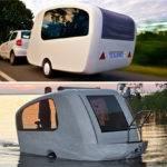 Sealander Amphibious Camping Trailer Ohgizmo