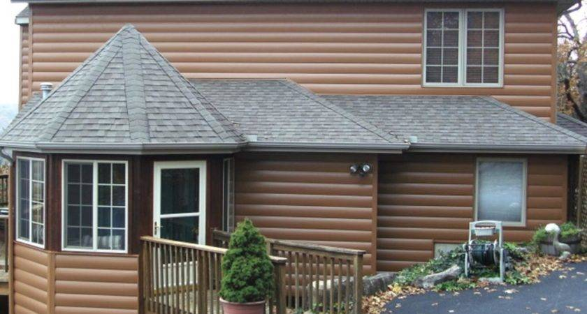 Seamless Steel Log Siding Contractor