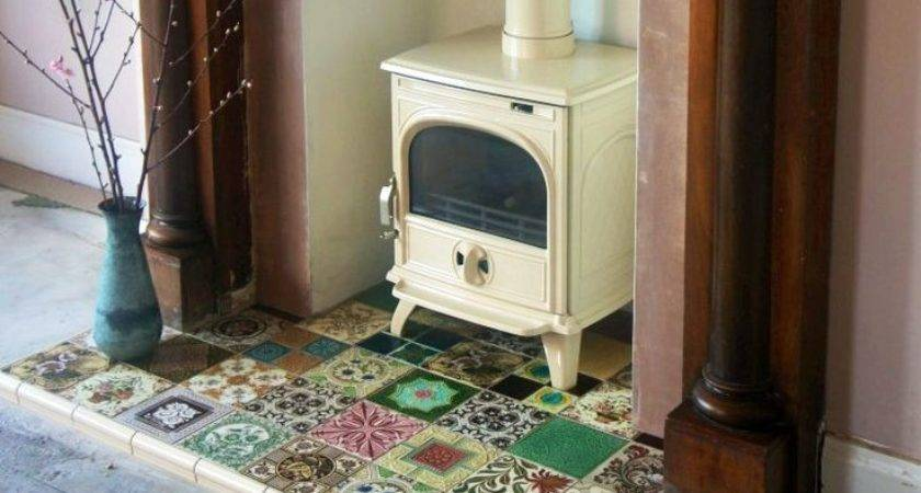 Seasonal Adjustments Tiled Fireplaces Waxman Ceramics