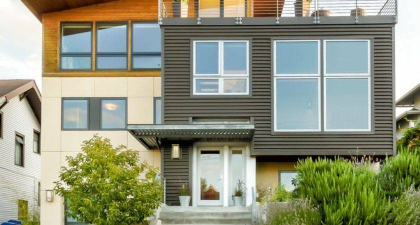 Seattle House Siding Options Exterior Modern Wood
